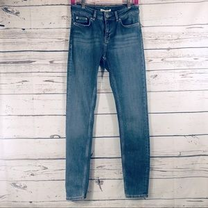 Maje Premium Denim Skinny Jeans Medium Wash XS/4